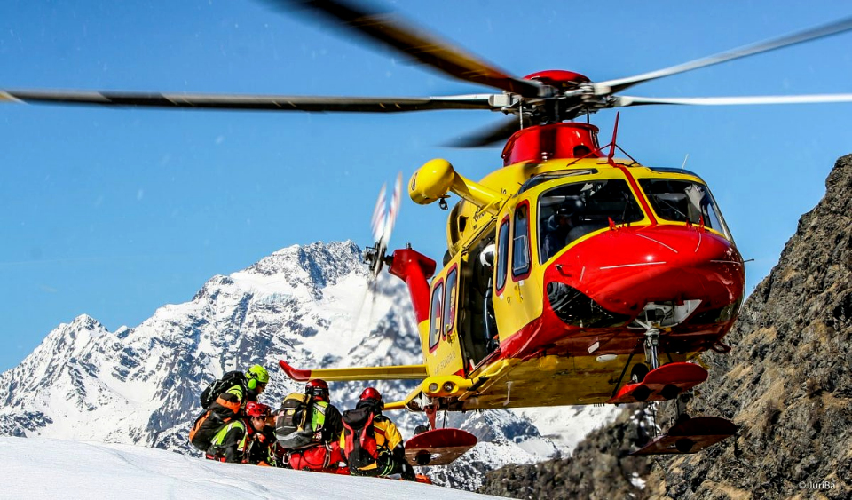 SAR in the alps Italy