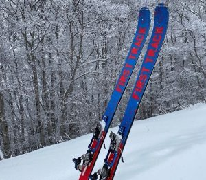 First Track handcrafted skis